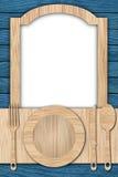 Fondo hecho de la madera Fotografía de archivo