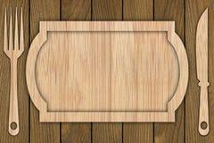 Fondo hecho de la madera Imágenes de archivo libres de regalías