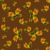 Fondo hecho de las mariposas de diversas flores Fotografía de archivo libre de regalías