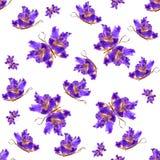 Fondo hecho de las mariposas de diversas flores Fotografía de archivo
