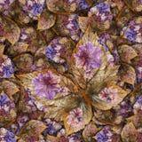 Fondo hecho de las mariposas de diversas flores Fotos de archivo