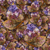 Fondo hecho de las mariposas de diversas flores Foto de archivo