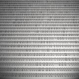 Fondo hecho de los dígitos 0 y 1 Libre Illustration