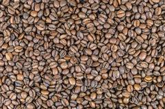 Fondo hecho de los granos de café foto de archivo libre de regalías