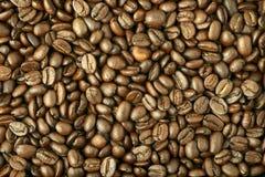 Fondo hecho de los granos de café Imagenes de archivo
