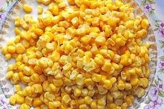 Fondo hecho de maíz Alimento imágenes de archivo libres de regalías