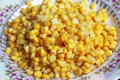 Fondo hecho de maíz Alimento fotos de archivo