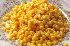 Fondo hecho de maíz Alimento imagen de archivo