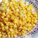 Fondo hecho de maíz Alimento foto de archivo