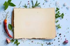 Fondo hecho en casa italiano de la comida del menú del arte; semana del restaurante Fotos de archivo