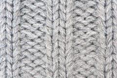 Fondo hecho punto de las lanas Fotografía de archivo