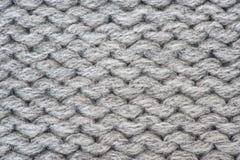 Fondo hecho punto de las lanas Foto de archivo