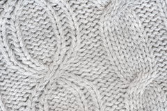 Fondo hecho punto de las lanas Imágenes de archivo libres de regalías