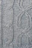 Fondo hecho punto de las lanas fotografía de archivo libre de regalías
