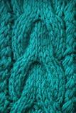 Fondo hecho punto de las lanas Fotos de archivo
