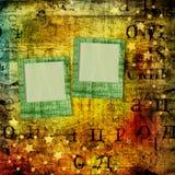 Fondo hermoso abstracto en el estilo de técnicas mixtas Fotografía de archivo libre de regalías