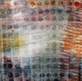 Fondo hermoso abstracto en el estilo de técnicas mixtas Imagen de archivo