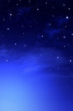 Fondo hermoso, cielo nocturno Foto de archivo libre de regalías