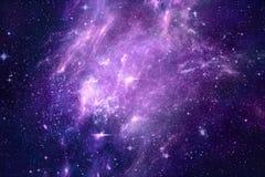 Fondo hermoso colorido artístico único de la galaxia de la nebulosa stock de ilustración