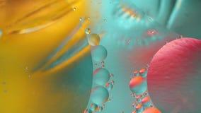 Fondo hermoso colorido del movimiento de la abstracción metrajes