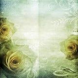 Fondo hermoso de la boda de la vendimia Imagen de archivo libre de regalías