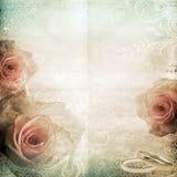 Fondo hermoso de la boda de la vendimia Imagen de archivo
