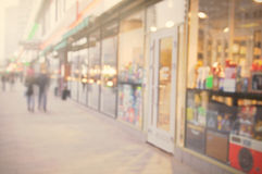 Fondo hermoso de la calle de la ciudad Fotografía de archivo libre de regalías