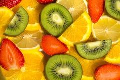 Fondo hermoso de la fruta Fotografía de archivo