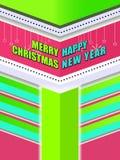 Fondo hermoso de la Navidad Imagenes de archivo