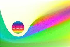 Fondo hermoso de la textura del arco iris de la hoja olográfica Fotos de archivo