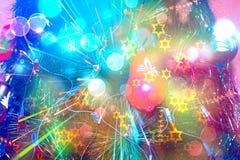 Fondo hermoso del árbol de navidad Imagen de archivo