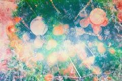 Fondo hermoso del árbol de navidad Fotografía de archivo