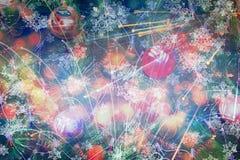 Fondo hermoso del árbol de navidad Imagenes de archivo