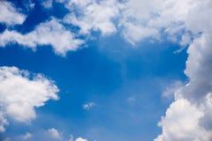 Fondo hermoso del cielo nublado Imagen de archivo