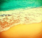 Fondo hermoso del extracto del verano del mar foto de archivo