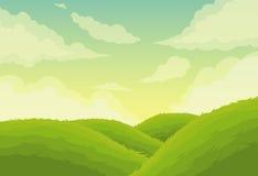 Fondo hermoso del paisaje stock de ilustración