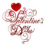 Fondo hermoso el el día de tarjeta del día de San Valentín ilustración del vector