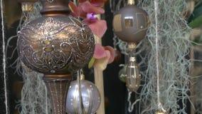 Fondo hermoso para la celebración de Eid Mubarak almacen de metraje de vídeo