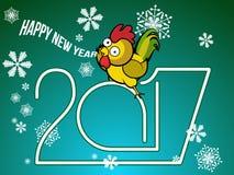Fondo hermoso por Año Nuevo ilustración del vector