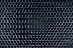 Fondo hexagonal gris concreto del modelo representación 3d Imagen de archivo libre de regalías