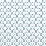 Fondo hexagonal moderno del modelo de la elegancia única elegante hexagonal stock de ilustración