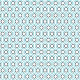 Fondo hexagonal simple único hexagonal del modelo Imagen de archivo libre de regalías