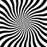 Fondo hipnótico del espiral del remolino Ilustración del vector Hypnos circunda concéntrico libre illustration
