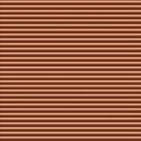 Fondo horizontal de cobre de la tubería Fotos de archivo