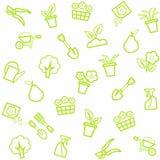 Fondo, horticultura, floricultura, inconsútil, blanca Imagen de archivo libre de regalías