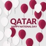 Fondo il Qatar festa nazionale celebrazione 18 dicembre royalty illustrazione gratis