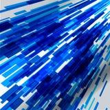 Fondo ilustrado concepto abstracto de la tecnología Foto de archivo