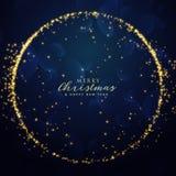 Fondo impresionante de la chispa del brillo para la estación del festival de la Navidad libre illustration