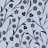 Fondo inconsútil abstracto con floral gráfico Fotografía de archivo libre de regalías