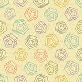 Fondo inconsútil abstracto con los objetos multicolores libre illustration